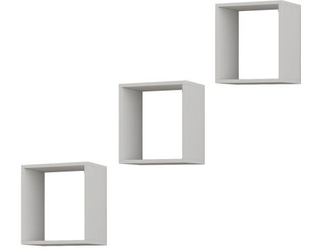 Trio de Nichos quadrado