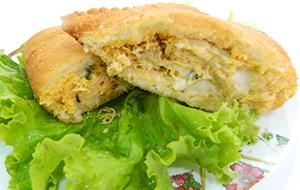 Pastelão de frango com requeijão