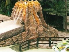 Escorregador de Vulcão
