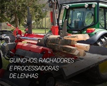 GUINCHOS, RACHADORES  E PROCESSADORAS DE LENHAS