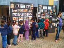 Feira Cultural Colégio La Salle com a participação das escolas e creches públicas, como Cohab I e 24 de Maio.