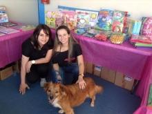 Palestra educacional sobre bem estar animal na Escola Talentinhos, onde a mascote Sharon Stone encantou as crianças.