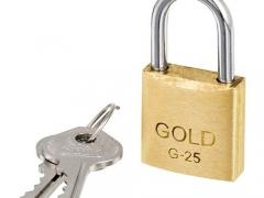 Cadeado Gold G-25