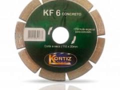 Disco Diamantado KF 6 Concreto