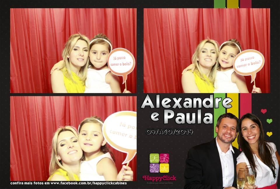 """<p><span>Veja abaixo alguns momentos que a HappyClick capturou! Para ver todas as fotos, cliquem em: <a href=""""https://www.facebook.com/media/set/?set=a.425721327570533.1073741868.327084327434234&type=1""""><span style=""""color: #ff00ff;""""><strong>Alexandre e Paula</strong></span></a></span></p>"""