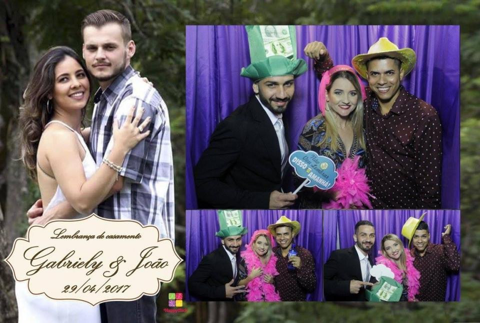 """<p>Veja abaixo alguns momentos que a HappyClick capturou!</p> <p>Para ver todas as fotos, cliquem em: <a href=""""https://www.facebook.com/pg/happyclickcabines/photos/?tab=album&album_id=915115458631115"""">Gabriely & João</a>não esqueça de marcar seus amigos!</p>"""