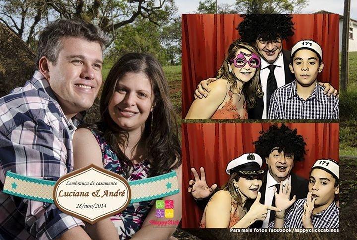 """<p><span>Veja abaixo alguns momentos que a HappyClick capturou! Para ver todas as fotos, cliquem em: <strong><a href=""""https://www.facebook.com/media/set/?set=a.478526758956656.1073741888.327084327434234&type=1""""><span style=""""color: #993366;"""">Luciana & André</span></a></strong></span></p>"""