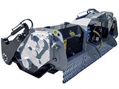 Fresa Florestal SSL/SSM/SSH: Tritura e incorpora resíduos e tocos.