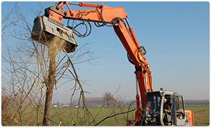 Triturador p/ Escavadeira hidráulica