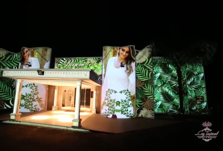 VIDEO MAPPING LUZ TROPICAL
