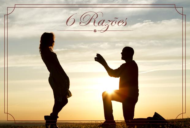 6 Razões pelas quais pessoas casadas são mais felizes e têm mais dinheiro.