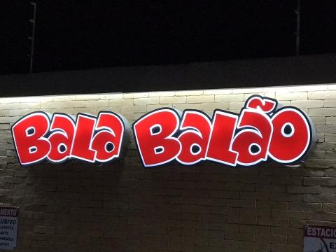 LETRA CAIXA BALA BALÃO BUFFET INFANTIL - BOTUCATU SP
