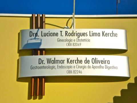 Dra. Luciane e Walmar Kerche