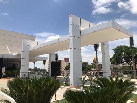 PÓRTICO CONFIANÇA SUPERMERCADOS - SOROCABA SP